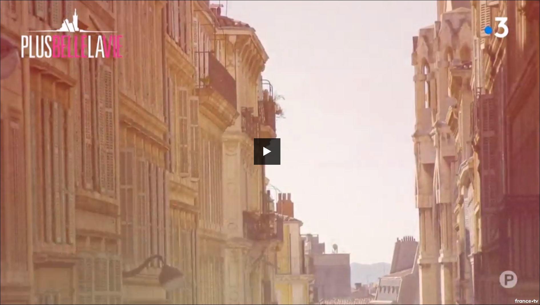 """Carius dans """"Plus belle la vie"""" sur France3"""